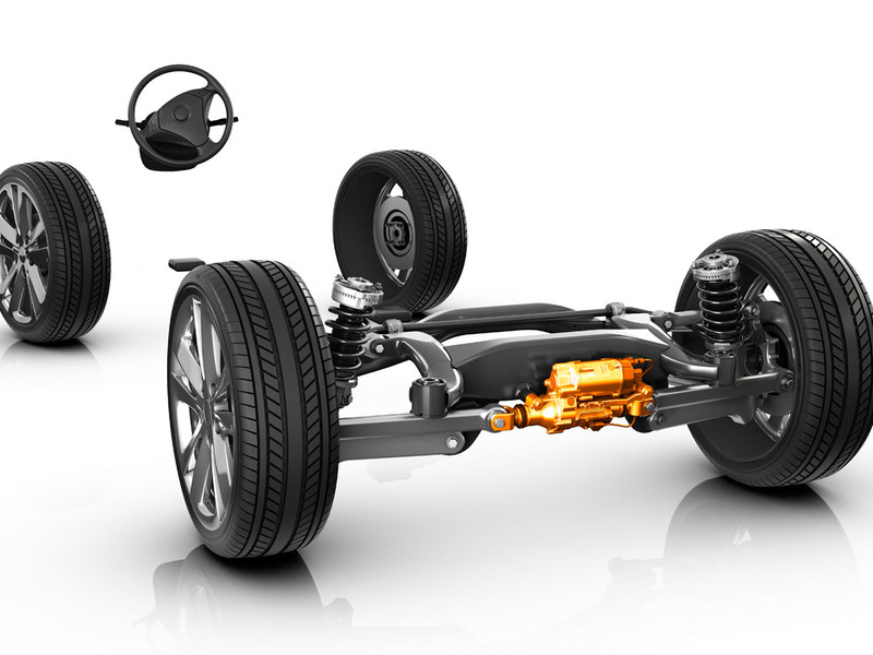 ZF célèbre 500'000 systèmes de direction d'essieu arrière actifs